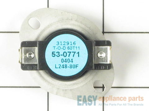 11742806-1-S-Whirlpool-WP53-0771-High Limit Thermostat (Limit: 258-80)