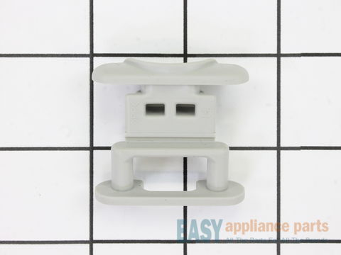 11747648-2-S-Whirlpool-WP99002135-Dishrack Guide Rail Stop - gray