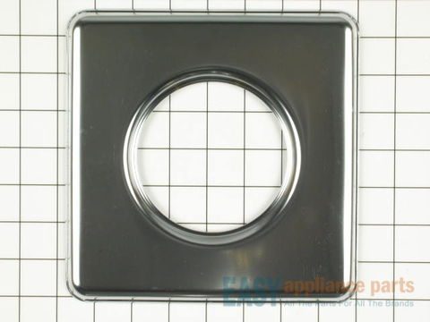 "11757427-2-S-Whirlpool-WPY0060872-Square Chrome Drip Pan (sides measuring 7-3/4"" each)"