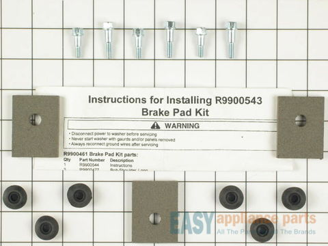 2174598-1-S-Whirlpool-R9900543-Brake Pad Kit