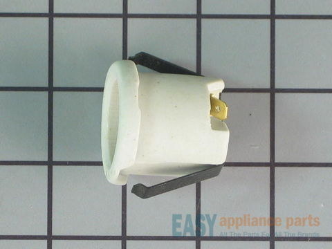 230439-1-S-GE-WB08T10004        -Oven Light Socket - With Push In Receptacle