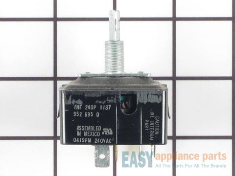 236434-1-S-GE-WB23X10009        -Infinite Burner Switch