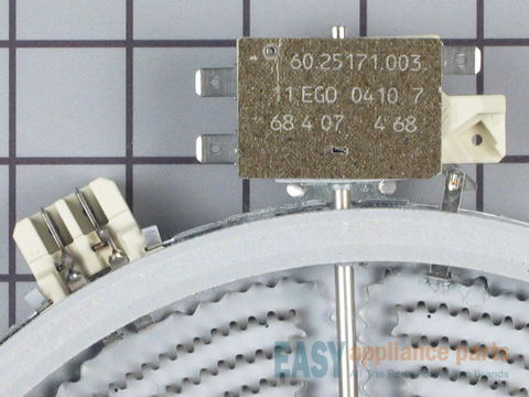 "243902-4-S-GE-WB30T10044        -Dual Haliant Element with Limiter - 9"" - 2500W"