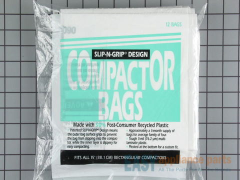 258002-1-S-GE-WC60X5017         -Compactor Bags - Package of 12