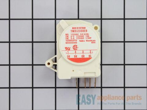 310858-3-S-GE-WR9X489           -Defrost Timer