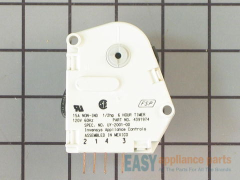 373019-3-S-Whirlpool-4391974           -6-Hour Defrost Timer