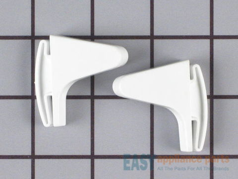 469919-1-S-Frigidaire-5303925379        -End Cap Set - Includes Right and Left - White