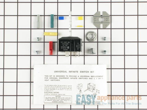 470145-2-S-Frigidaire-5303935086        -Burner Switch Kit