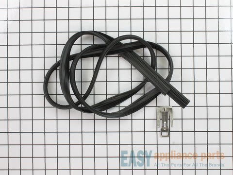 5136129-2-S-Whirlpool-W10542314-Door Gasket with Strike - Black